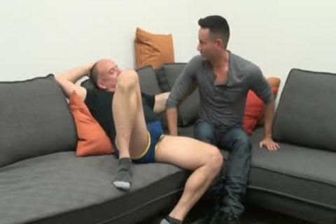young guy Sucks & acquires drilled By old Daddy