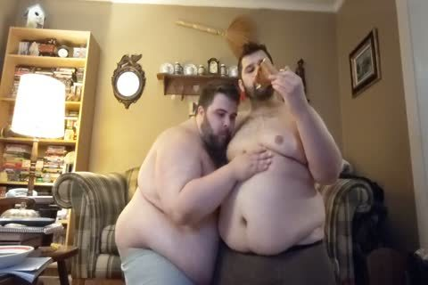 Gainer Boyfriends Eating & Belly Play