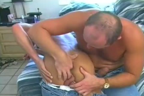 Skinny man With Prince Albert Piercing Is ass