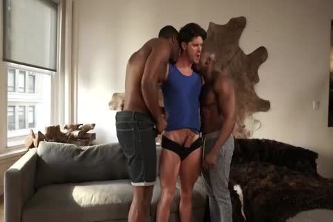 Max, Devin & Andre - Double black penises For Franco