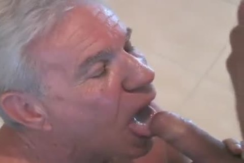 lovely old man sucking & Getting fucked By Younger twink