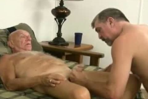 sucking daddy man