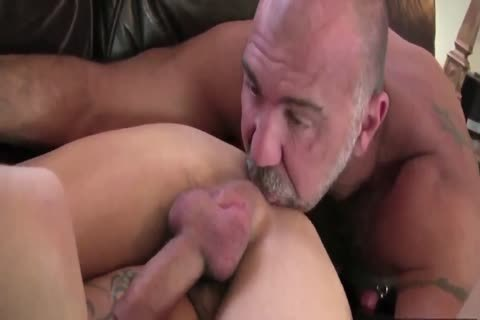 DADDY TRAINS YOUR pooper WITH HIS enormous dick