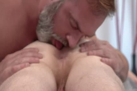 brawny Stepson Cums In His Stepdad