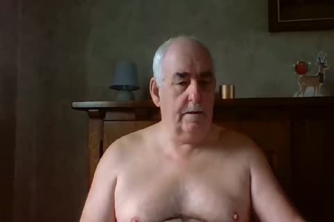 grand-dad sperm On cam