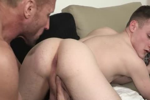 Foot hammering Stepdad On The couch