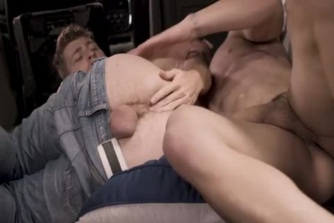 lustful lad Got drilled By A Muscle stud