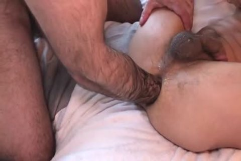 unfathomable Fisting Session With lustful Fister And lustful Bottoms