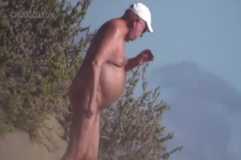 So Many nasty old men At The nude Beach!