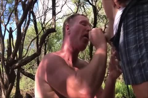 whore dad Got Loads In Woods